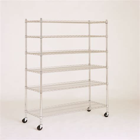 6 tier multi purpose wire storage rack wire shelf additions