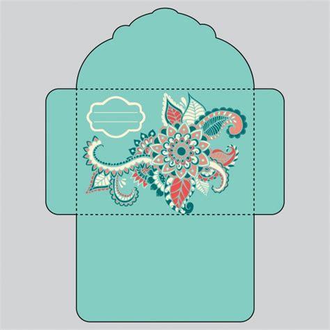 design envelopes online free floral envelope design vector free download