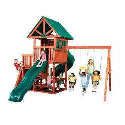 home depot swing set swing n slide playsets southton wood complete play set