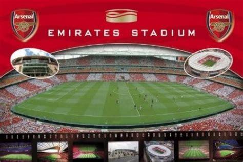 Football Stadium Wall Murals the emirates stadium arsenal football club popartuk