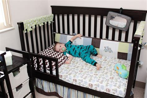 Toddler Bed Transition The Accidental Wallflower How Big Is A Baby Crib