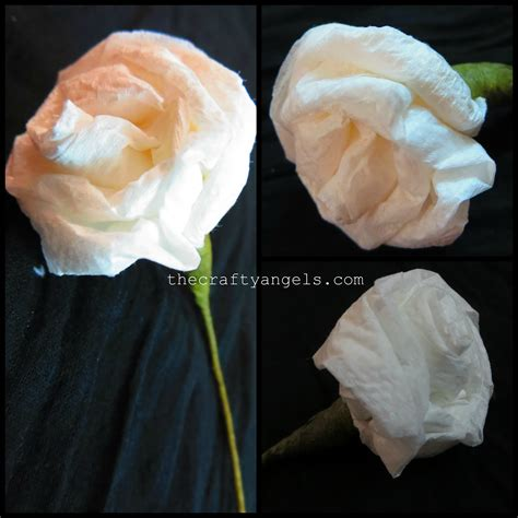 How To Make Tissue Paper Roses Step By Step - how to make tissue paper flowers 8