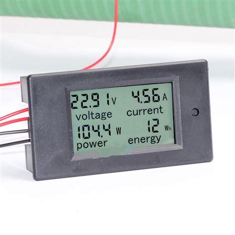 Watt Meter Voltage Kwh Haigh Quality Murah dc battery 6 5 100v 20a lcd voltage current kwh watt power