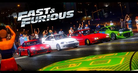 fast and furious marathon gta 5 the fast and the furious first race youtube