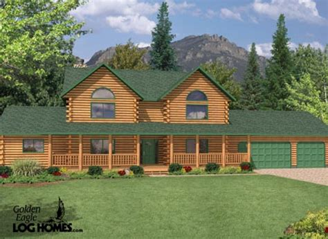 Log Cabin Homes In Tennessee by Log Homes And Log Home Floor Plans Cabins By Golden Eagle
