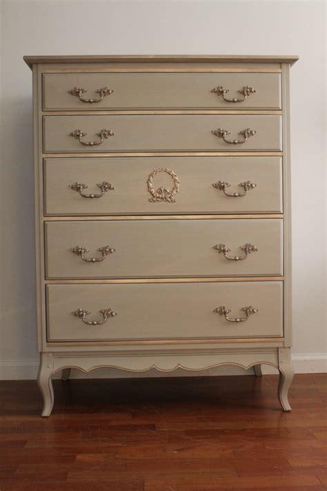Light Gray Dresser by Vintage Chic Light Grey Dresser Bureau Chest Of