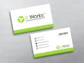 it works business cards it works business cards free shipping