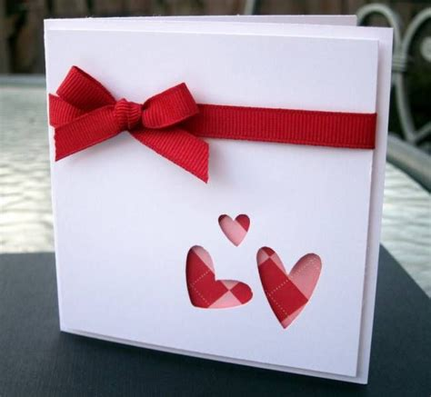 Valentines Handmade Card - 25 best ideas about handmade valentines cards on