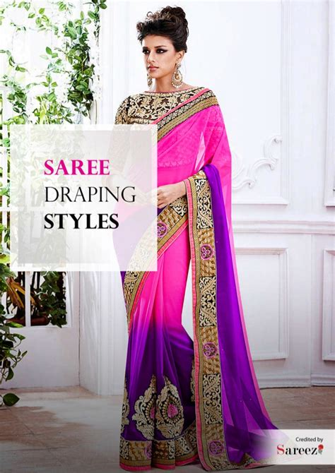 different types of hairstyles in saree know about different styles of wearing saree saree