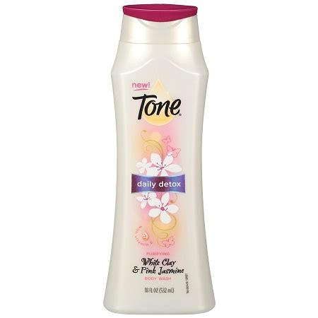 Tone Detox Wash by Tone Daily Detox Purifying Wash White Clay And Pink