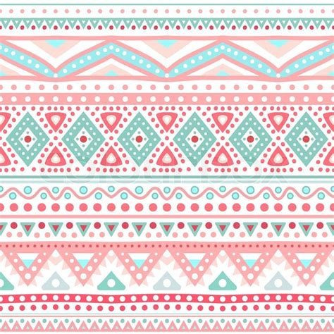 tribal pattern illustrator tribal ethnic seamless stripe pattern vector illustration
