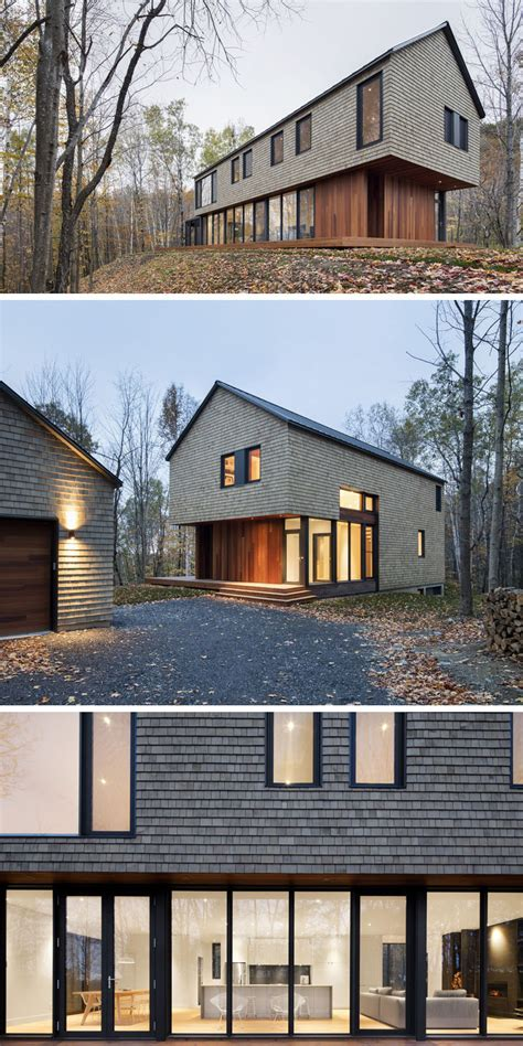shingle sided houses 13 exles of modern houses with wooden shingles contemporist