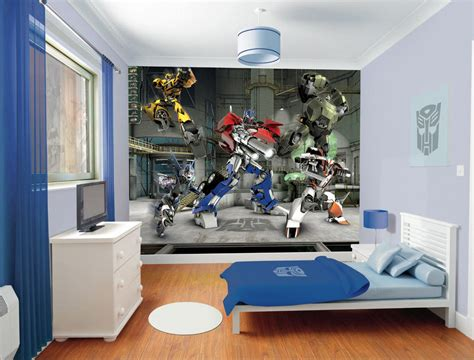 transformers wall mural project boys bedroom mummy