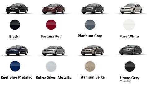 2017 volkswagen passat color options and features