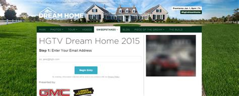 Hgtv Sweepstakes Winners List - dream home 2014 sweepstakes entry forms autos weblog
