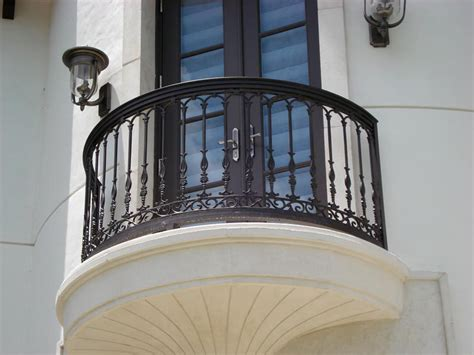 Balcony Banister by Wrought Iron Outdoor Decorative Balcony Railing Design New