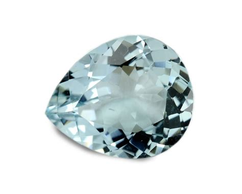 2 39 carats aquamarine gemstone pear ebay