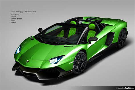 Lamborghini Farben by Lamborghini Aventador Lp720 4 50th Anniversario In All