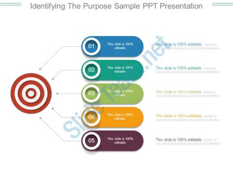 what is the purpose of a template identifying the purpose sle ppt presentation