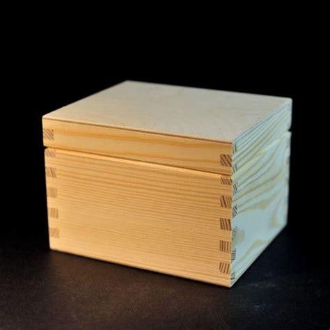 Box 12 5 X 8 5 X 5 plain wooden box 14 8 x 12 5 x 10 5 cm