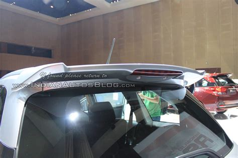 Sapoiler Mobil honda mobilio rs rear spoiler indonesia launch indian autos