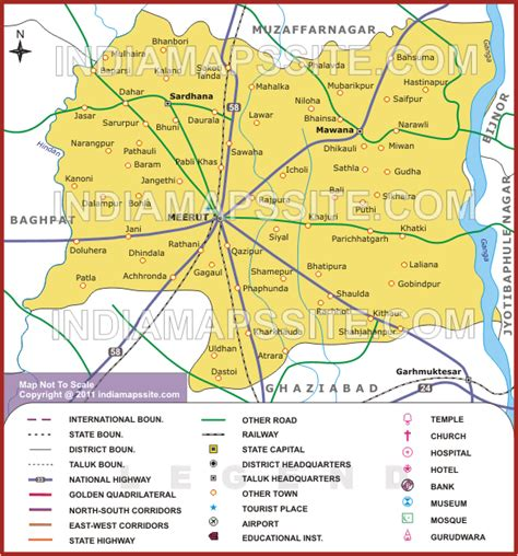 meerut on india map meerut about lost in india