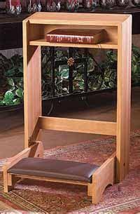 build  prayer kneeler  ehowcom prayer closet