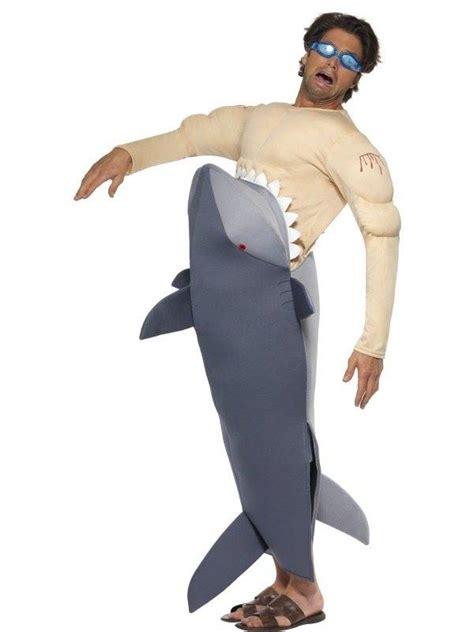 mensenetende haai kostuum feestbazaar nl