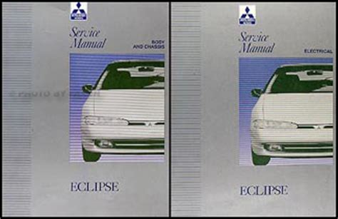 service and repair manuals 1992 mitsubishi eclipse electronic valve timing 1992 1993 mitsubishi eclipse repair shop manual set original