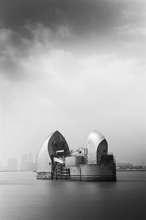 thames barrier design construction thames barrier london