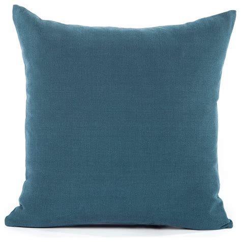 solid navy blue accent throw pillow cover contemporary