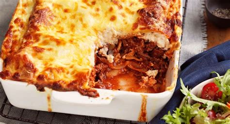 beef  ricotta lasagne  garden salad recipe