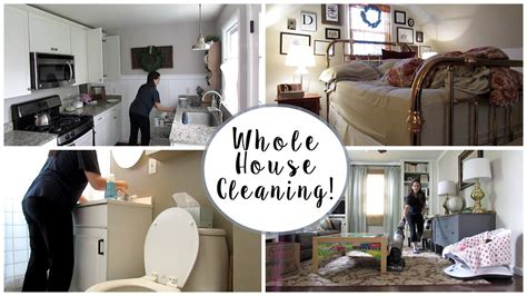 clean my house whole house cleaning vlog youtube