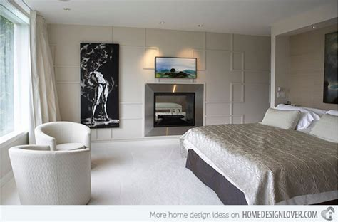 bedroom fireplace design 20 modern bedroom with fireplace designs home design lover