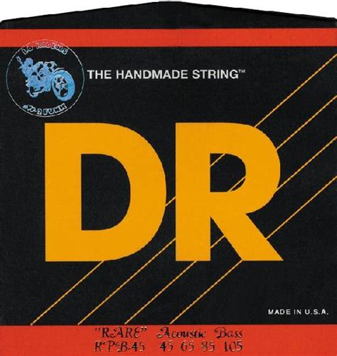 Dr Bass Accoustic dr acoustic bass guitar strings frederic h weiner