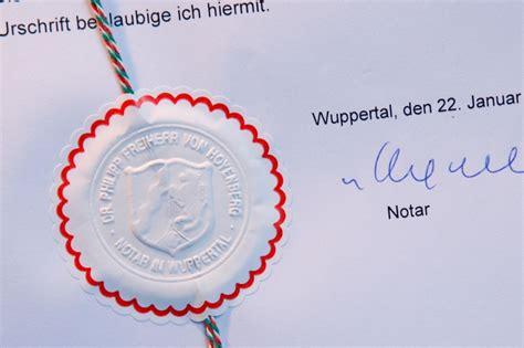 Testament Notariell Beglaubigen by Notar Dr Philipp Freiherr Hoyenberg Wuppertal