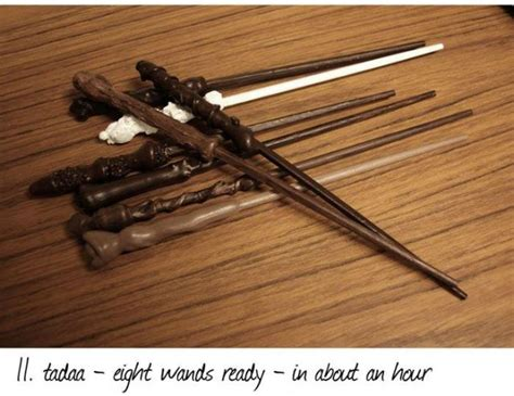 chopstick wand tutorial how to make harry potter style wands 12 pics picture