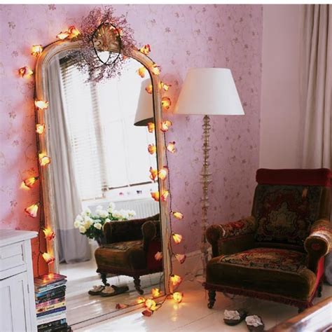 Bedroom Mirror With Lights Vintage Decorating Ideas For Bedrooms Decorating Ideas