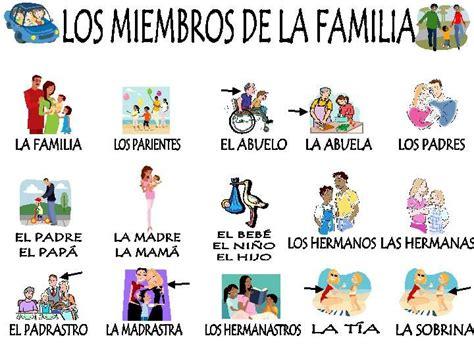 familia pinteres la familia espagnol pinterest la familia familias y