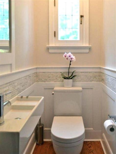 Wainscoting Tile Bathroom by Wainscoting In Bathroom Mosaic Tile Exles Bathrooms