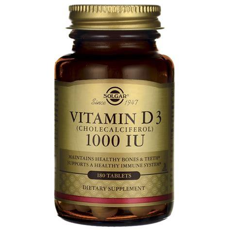 Vitamin D3 1000 Iu solgar vitamin d3 cholecalciferol 1000 iu 1 000 iu 180