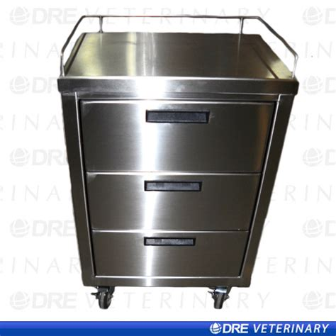 metal utility cart with drawers stainless steel mobile utility cart with drawers