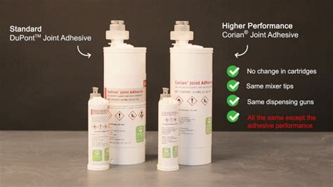 corian adhesive the new corian 174 joint adhesive corian 174 solid surfaces