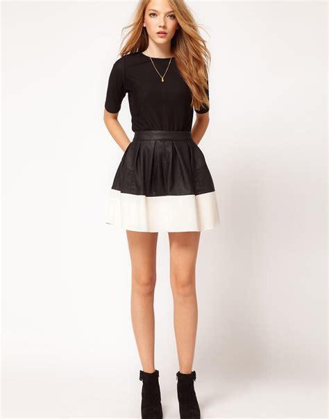 Exclusive Rok Spant Mini Terlaris leren klok rok trend kleding insider