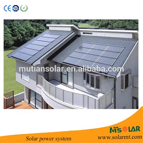 home solar power station whole solar system 2kw solar power station buy home