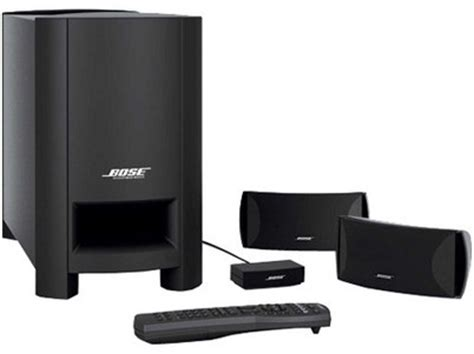 bose cinemate series   channel digital home theater