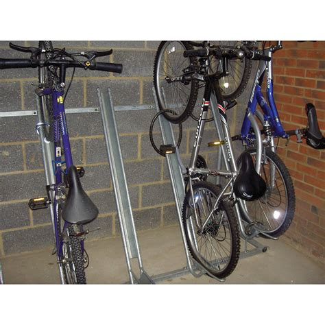 Vertical Bike Racks by Semi Vertical Bike Rack Cycle Racks Ese Direct