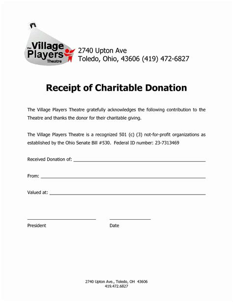 Salvation Army Donation Spreadsheet | Glendale Community