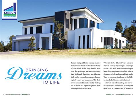 yarrum designer homes business world international