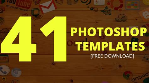 free photoshop photo templates 41 photoshop templates free text effect templates dezcorb